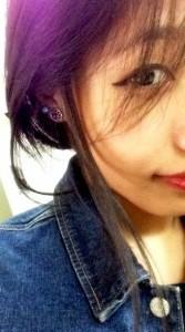 The earring Ayangti longkumer got me