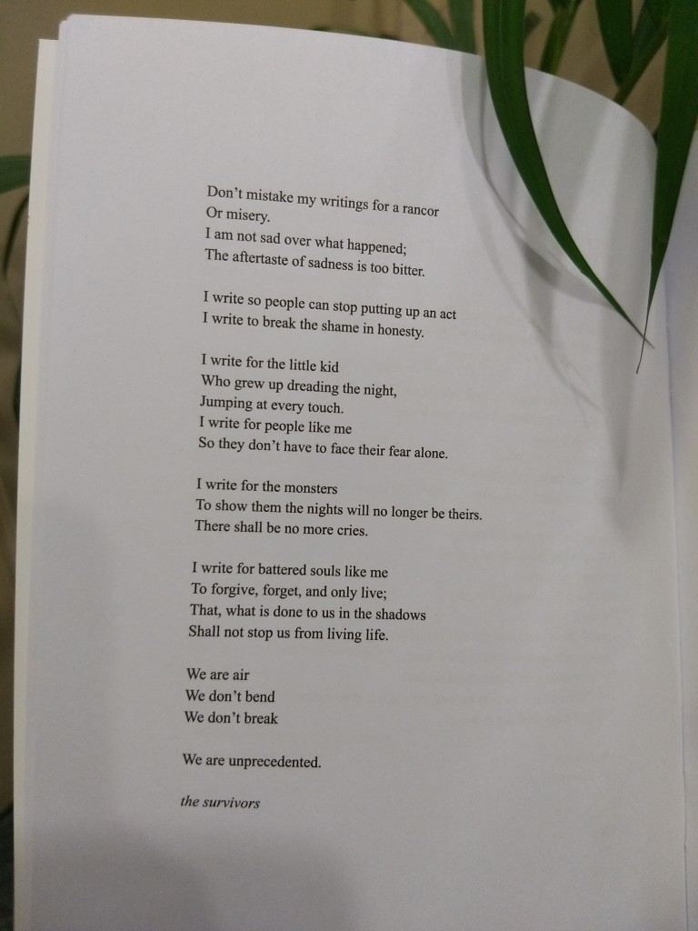 Yuimi poems on child sexual abuse